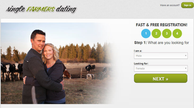 Free farmers only dating site