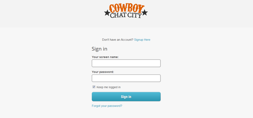 Cowboy Chat city login
