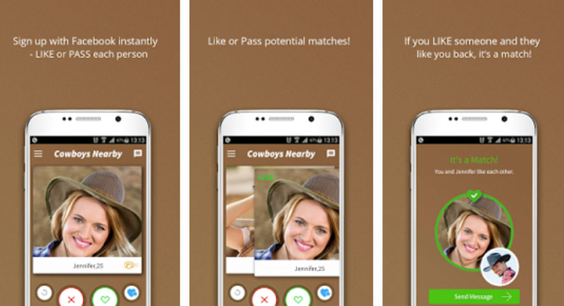 Cowboys Nearby app